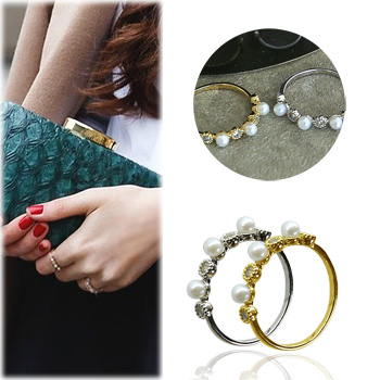 SAC10873Twinkling Pearl Rings