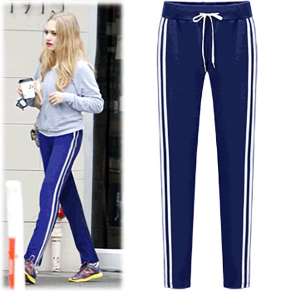 BPT10977Colorful Double Stripe Training Pants