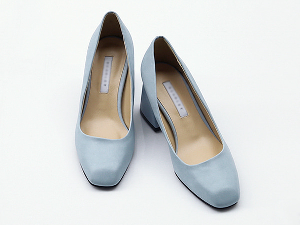 SHO15057Rumi Neat Middle Heel Pumps