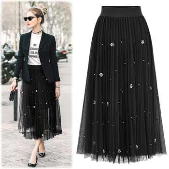 #BSK15121Jewelry Point Pleats Skirt2차 입고 완료