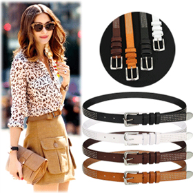 SAC9262Mini Circle Stud Belt